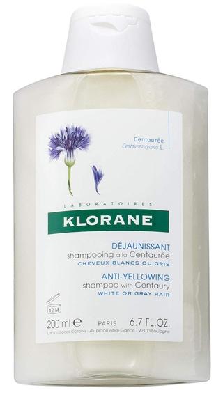 Klorane Anti-Yellowing Shampoo  | 40plusstyle.com