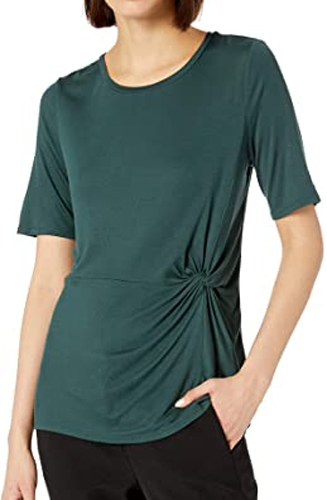 Lark & Ro side knot detail top | 40plusstyle.com