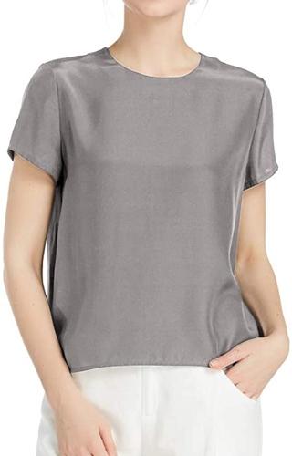 LilySilk silk blouse | 40plusstyle.com
