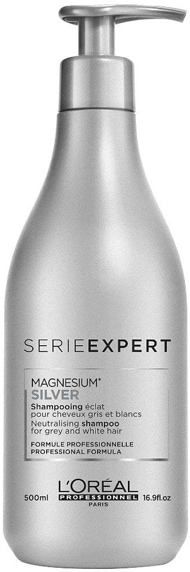 L'Oréal Serie Expert Magnesium Silver Neutralising Shampoo   40plusstyle.com