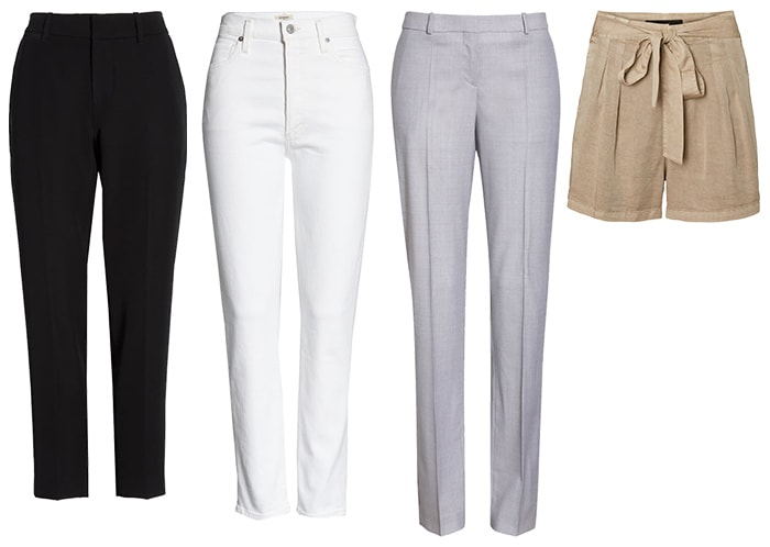 Pants for the minimal style personality | 40plusstyle.com