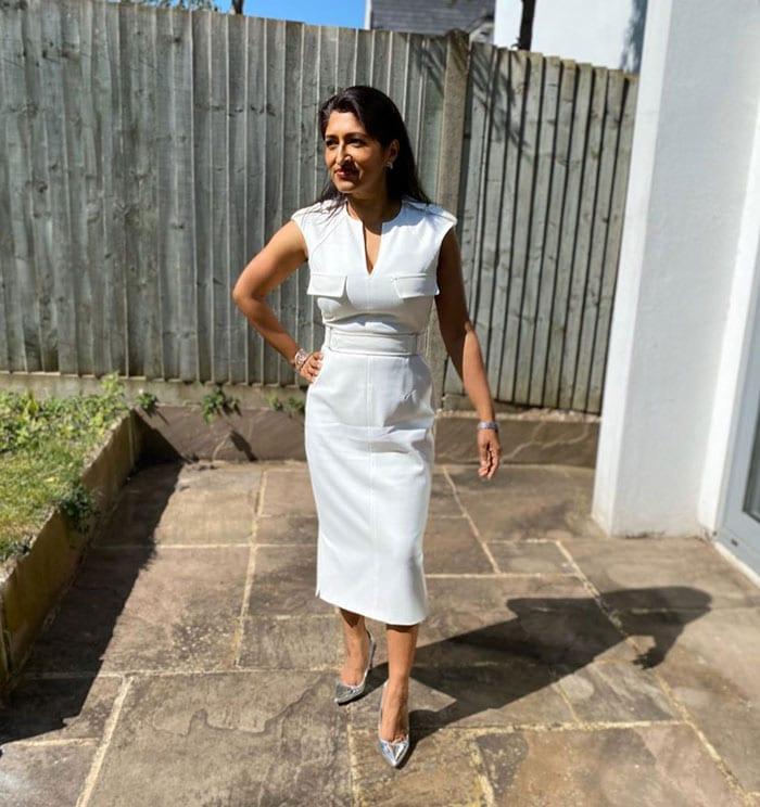 white dress style ideas | 40plusstyle.com