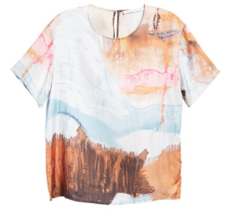 Gift ideas for women - silk shirt | 40plusstyle.com