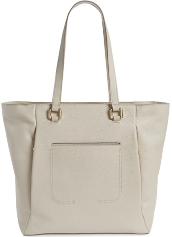 Gift ideas for women - Nordstrom leather tote | 40plusstyle.com