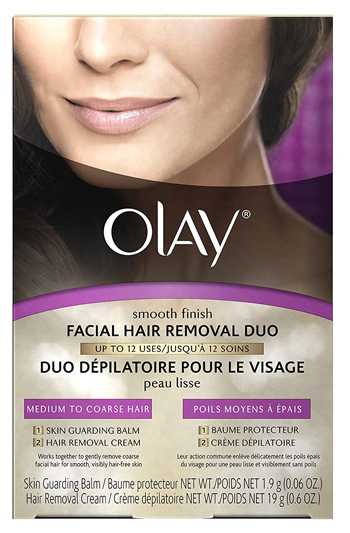 Olay Smooth Finish Facial Hair Removal Duo | 40plusstyle.com