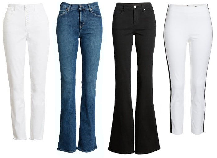 pants and jeans for petites | 40plusstyle.com
