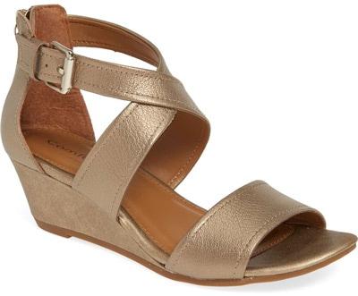 Comfortiva 'Rabea' wedge sandal | 40plusstyle.com
