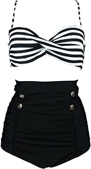 COCOSHIP retro bikini set | 40plusstyle.com