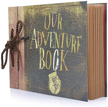 BBwill Our Adventure Book, DIY Handmade Album Scrapbook | 40plusstyle.com