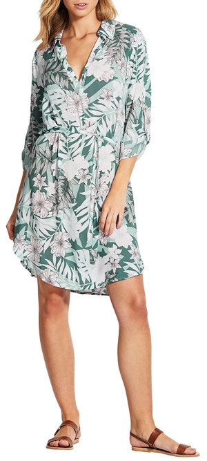 Seafolly shirtdress | 40plusstyle.com