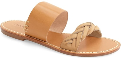 Best women's sandals - Soludos slide sandal | 40plusstyle.com