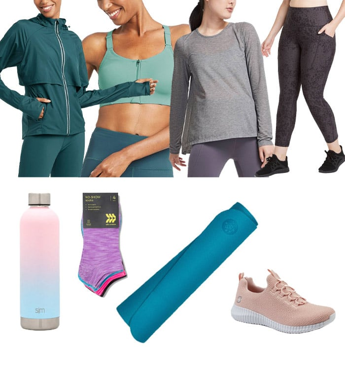 Workout clothes from Target | 40plusstyle.com