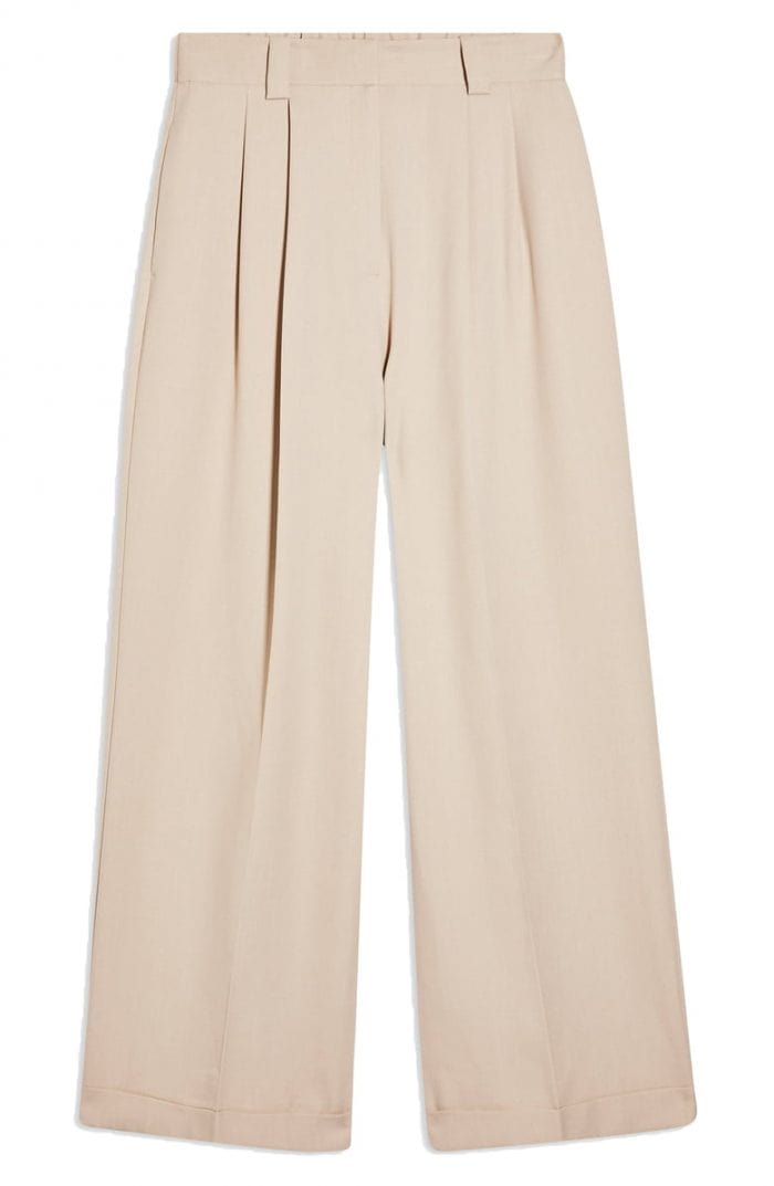Ellastic waist pants from Topshop | 40plusstyle.com