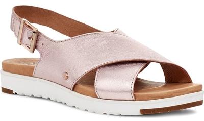 Best women's sandals | UGG 'Kamile' slingback sandal | 40plusstyle.com