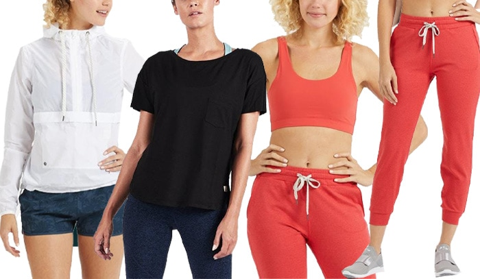 Viouri workout outfits | 40plusstyle.com