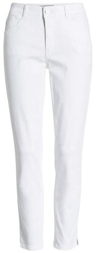 Wit & Wisdom high waist ankle skinny pants | 40plusstyle.com