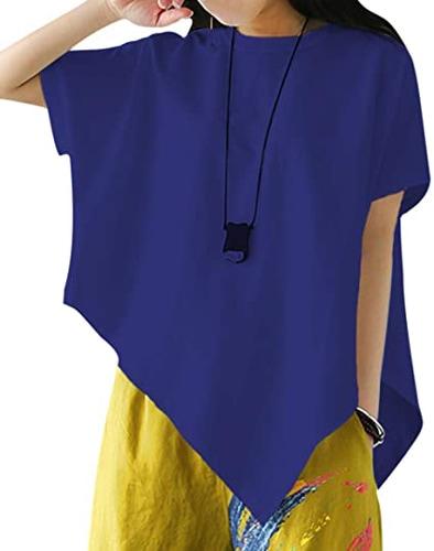 best t shirts for women - YESNO handkerchief shirt | 40plusstyle.com