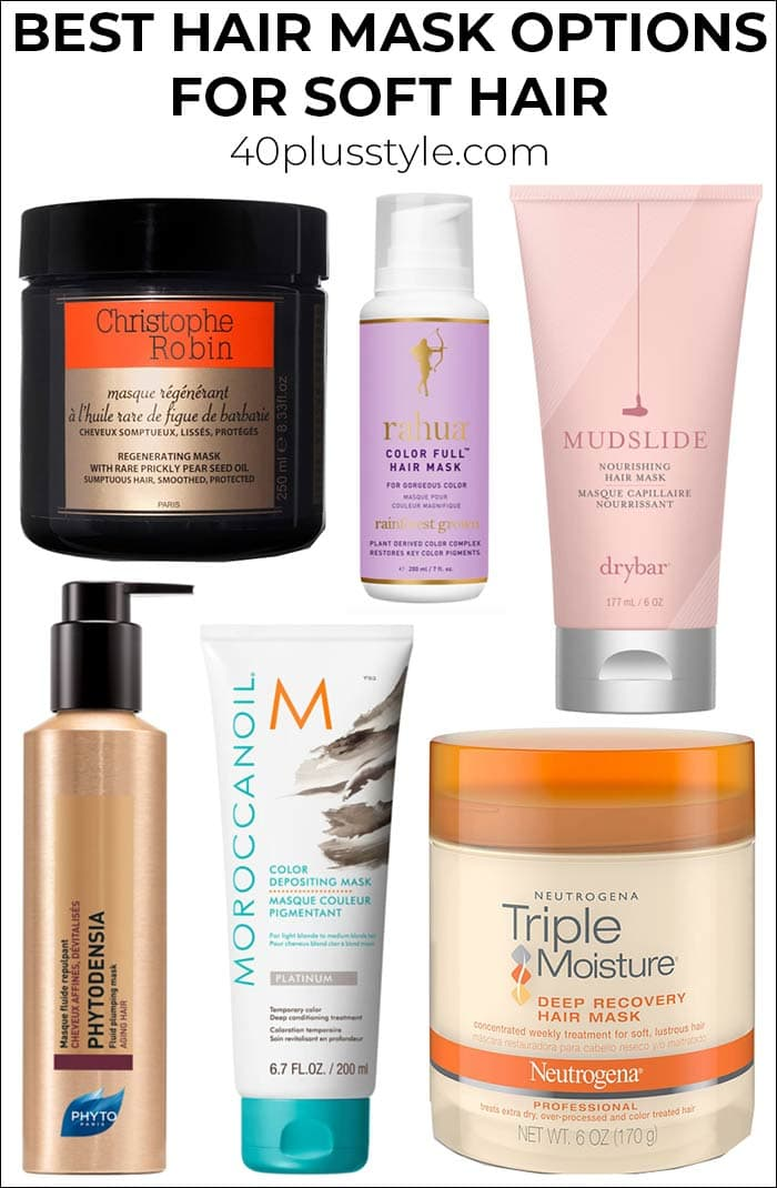 Best hair mask options for super soft hair   40plusstyle.com