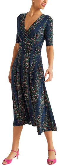 Boden Kassidy jersey midi dress | 40plusstyle.com