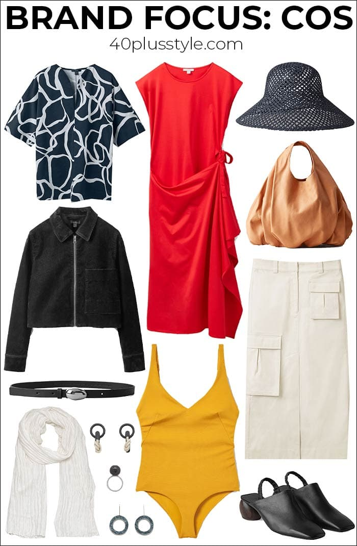 Brand focus: COS - new season pieces minimalists won't be able to resist | 40plusstyle.com