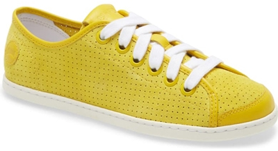 Camper perforated sneaker | 40plusstyle.com
