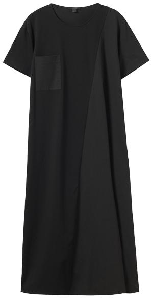 COS diagonal seam dress | 40plusstyle.com
