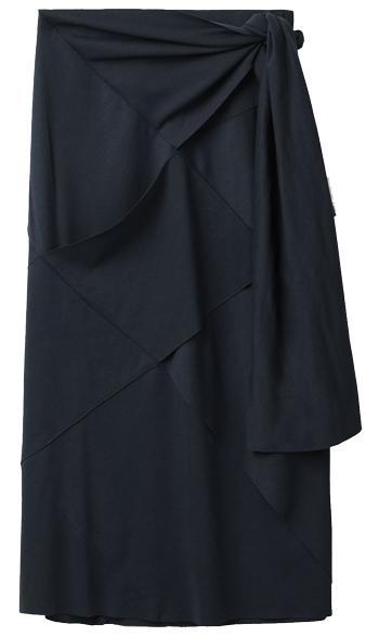 tie waist skirt | 40plusstyle.com