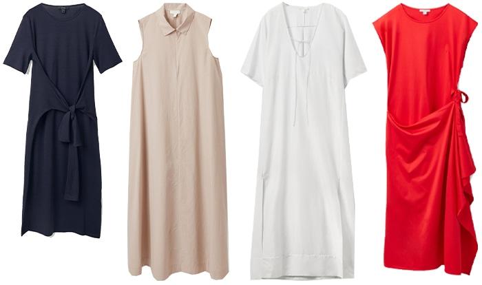 COS dresses | 40plusstyle.com
