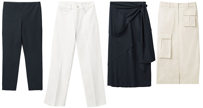 Timeless pants and skirts | 40plusstyle.com