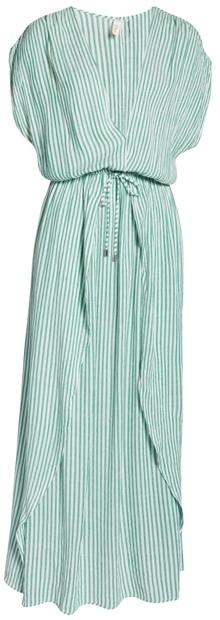 Elan wrap maxi cover-up dress   40plusstyle.com