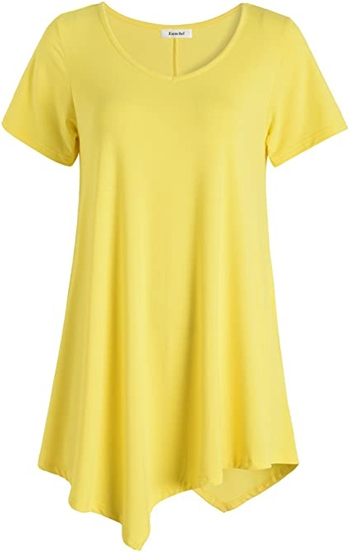 Esenchel swing tunic top | 40plusstyle.com