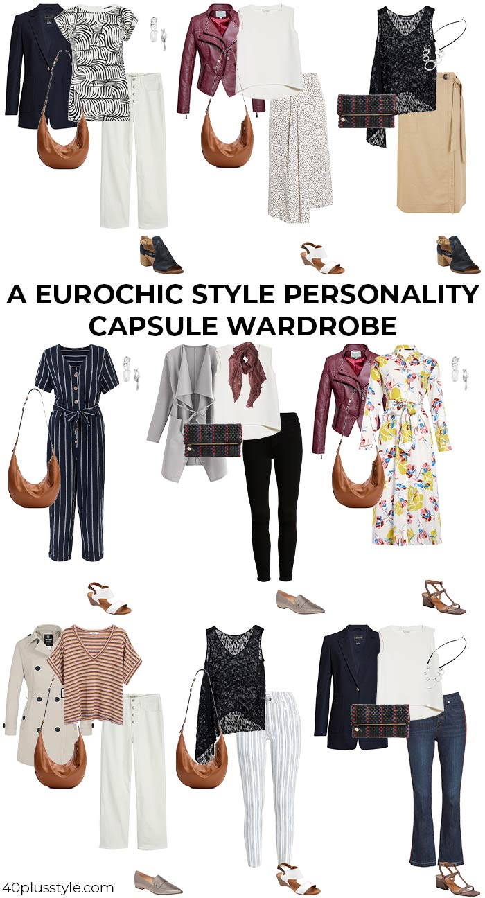 A capsule wardrobe for the eurochic style personality   40plusstyle.com