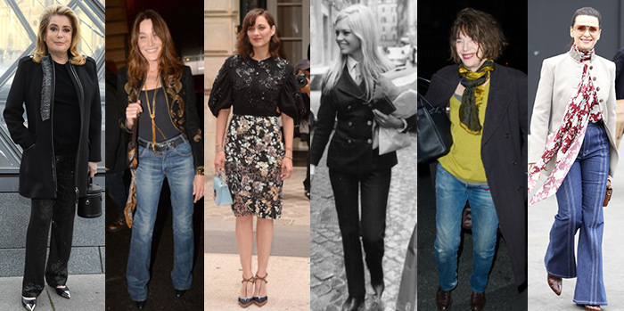 Celebrities with European style   40plusstyle.com