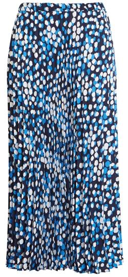 summer skirts for women - Halogen pleated skirt | 40plusstyle.com
