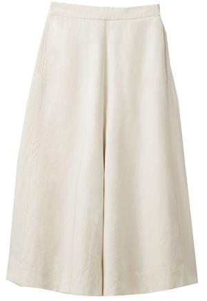 COS wide linen-mix culottes | 40plusstyle.com