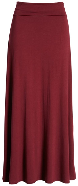 long versatile skirt to go with all your tops | 40plusstyle.com