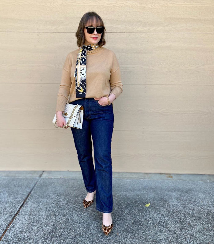 classic style outfit mixed with European chic | 40plusstyle.com