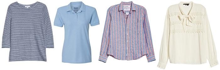 preppy tops to wear | 40plusstyle.com