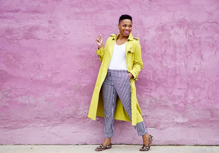 The perfect yellow coat | 40plusstyle.com
