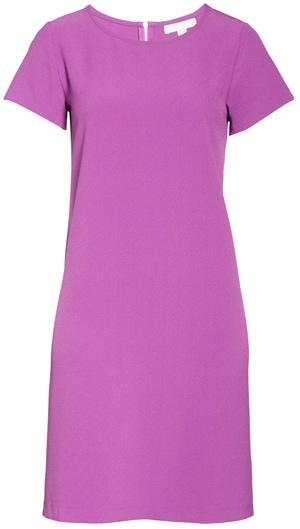Chelsea28 crepe shift dress | 40plusstyle.com