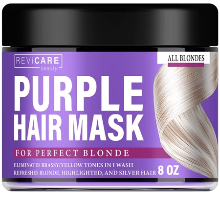 Revicare Beauty Purple Hair Mask   40plusstyle.com