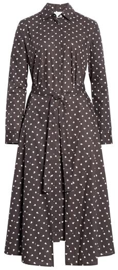 Rosetta Getty wrap midi dress | 40plusstyle.com
