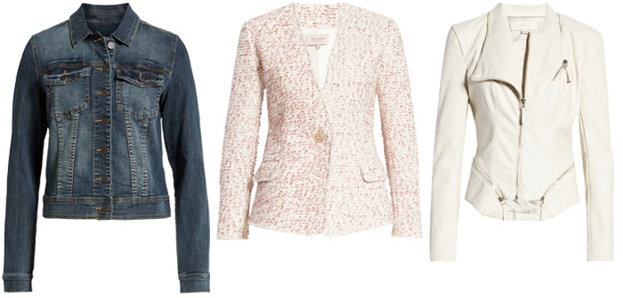 short jackets to look taller and slimmer | 40plusstyle.com