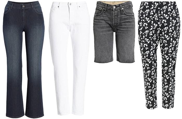 Summer trends: Pants & Jeans   40plusstyle.com
