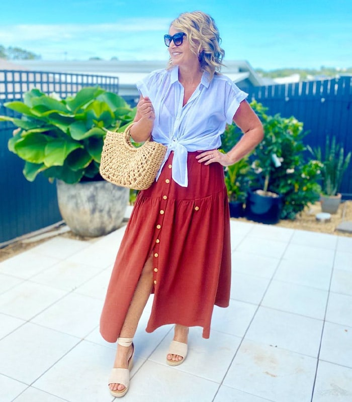 Easy breezy summer skirt outfits and the best summer summer skirts for women in stores now