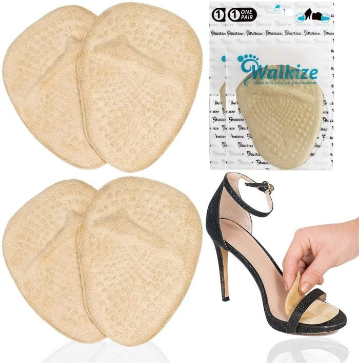 Walkize metatarsal pads | 40plusstyle.com