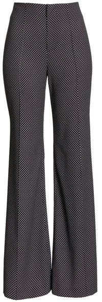 Alice + Olivia wide leg trousers | 40plusstyle.com