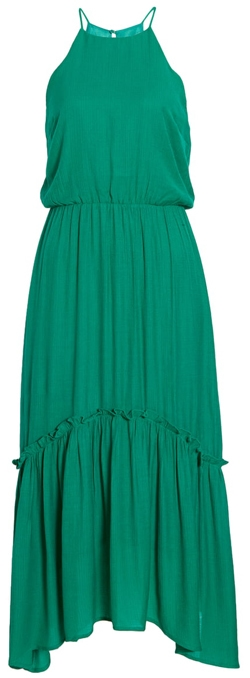 All in Favor halter maxi | 40plusstyle.com