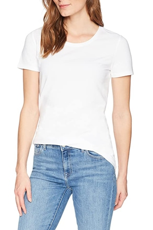 Amazon Essentials classic-fit crewneck t-shirt   40plusstyle.com