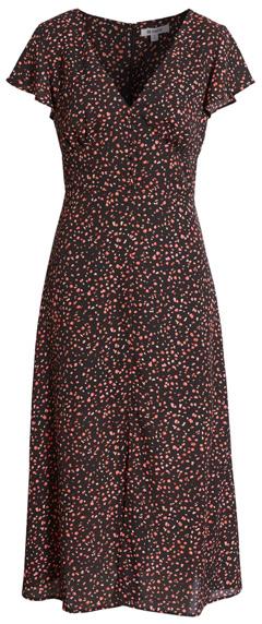 BB Dakota confetti midi dress   40plusstyle.com